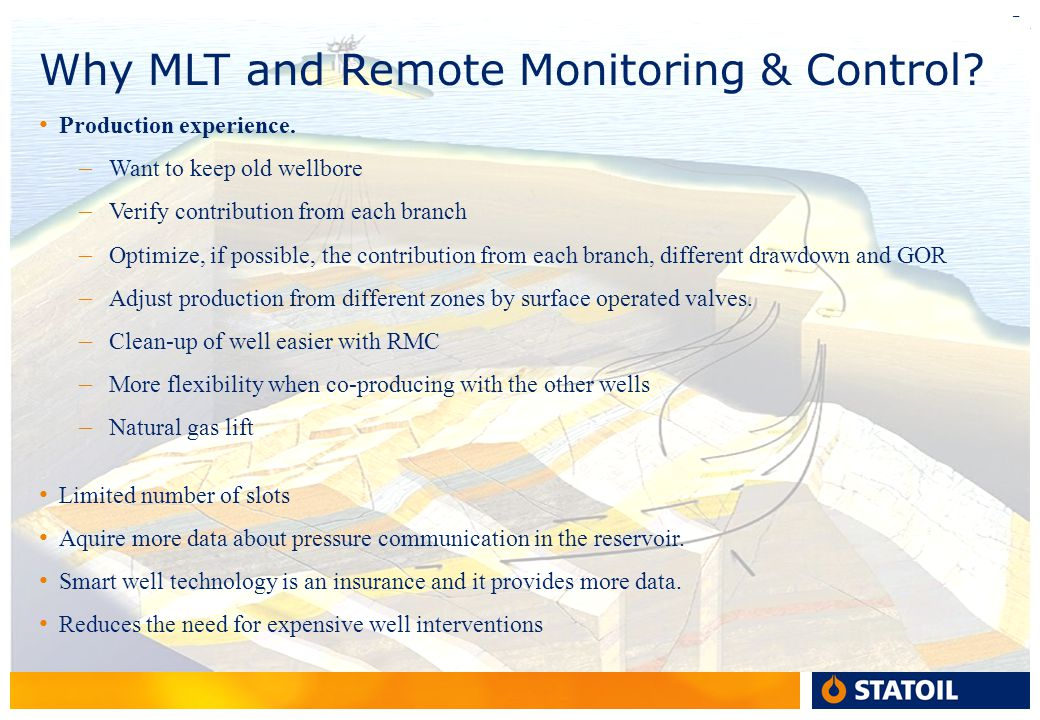 Why MLT and Remote Monitoring & Control