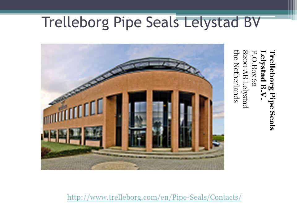Trelleborg Pipe Seals Lelystad BV