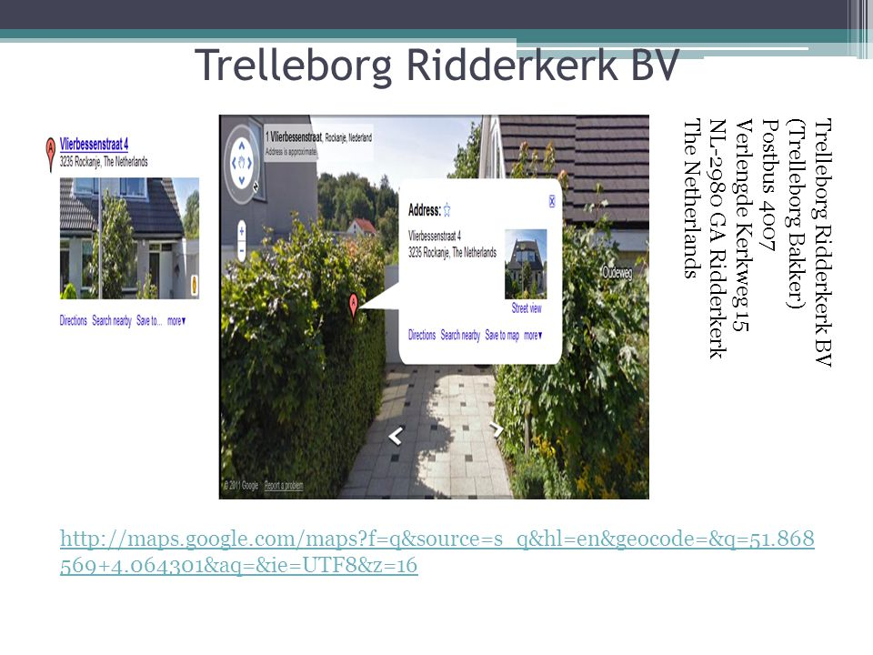 Trelleborg Ridderkerk BV