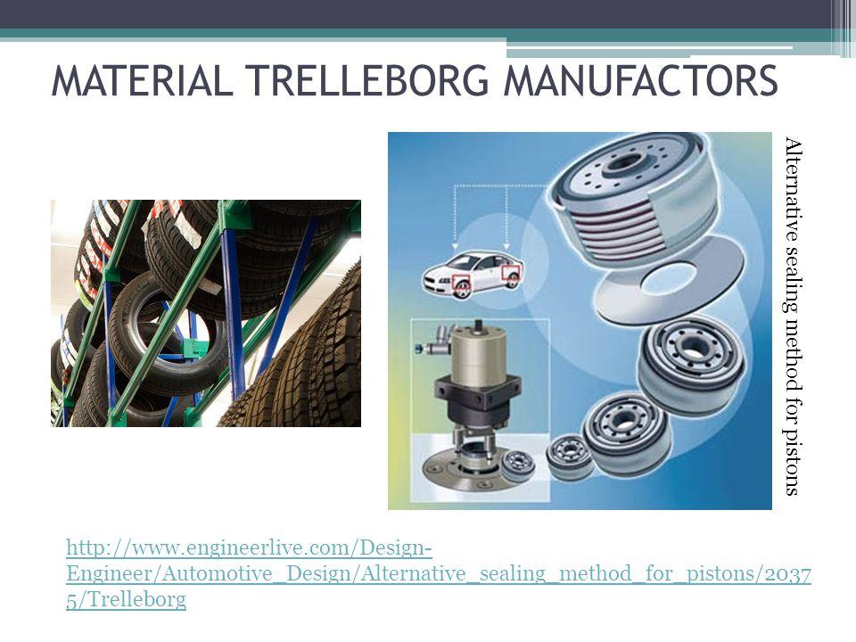 MATERIAL TRELLEBORG MANUFACTORS