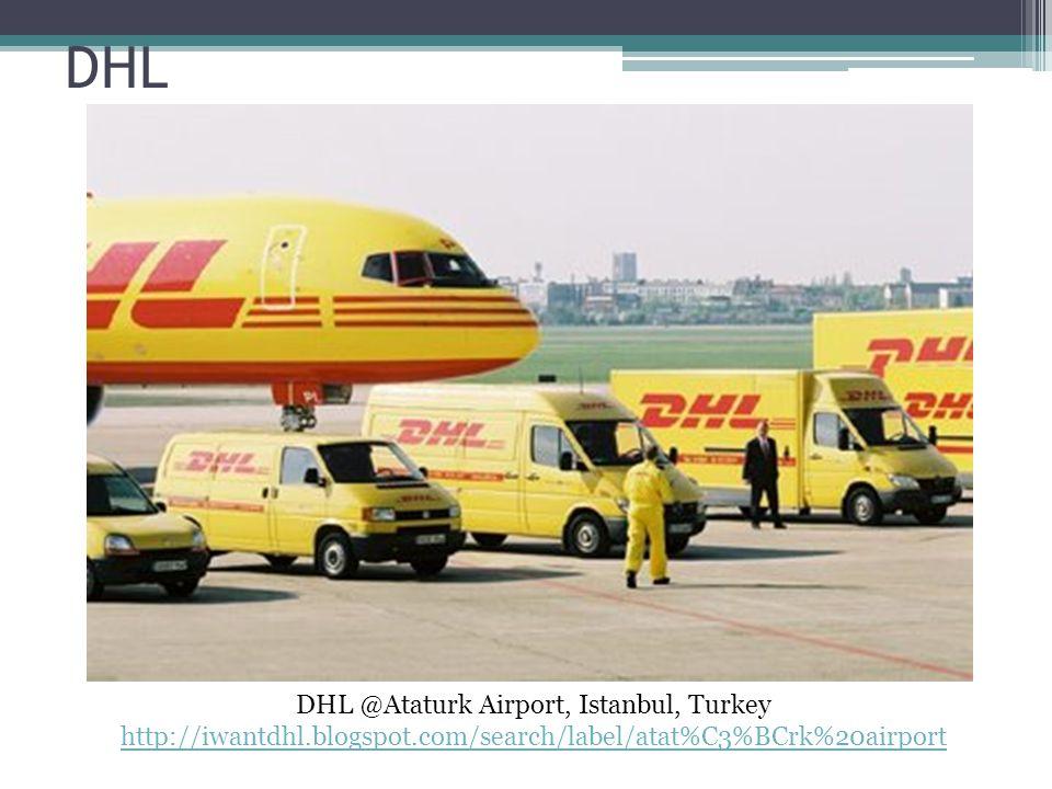 DHL @Ataturk Airport, Istanbul, Turkey
