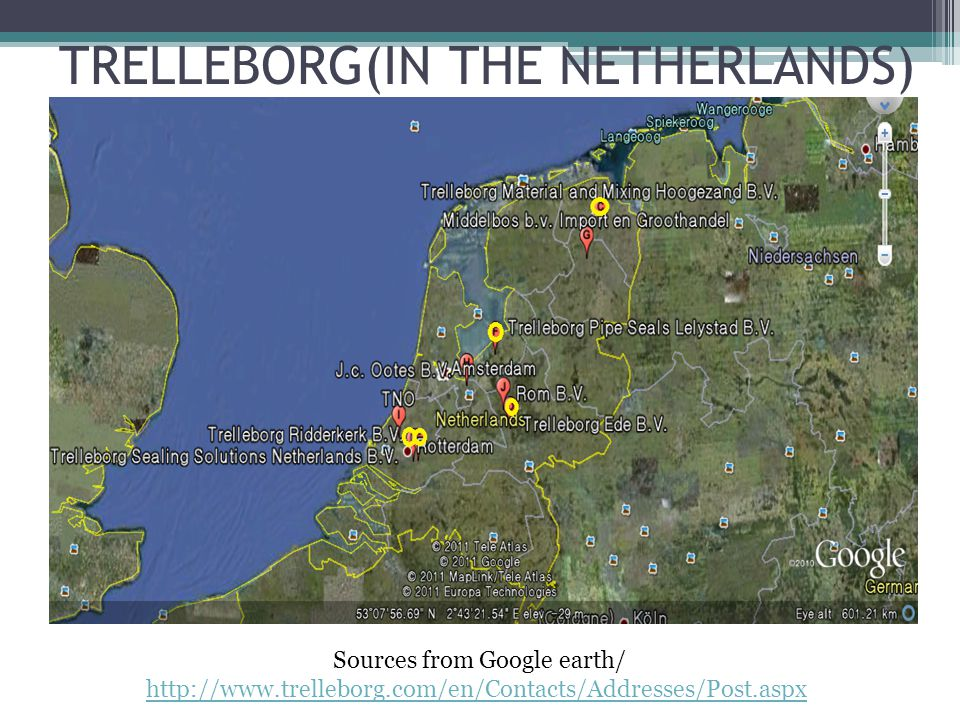 TRELLEBORG(IN THE NETHERLANDS)