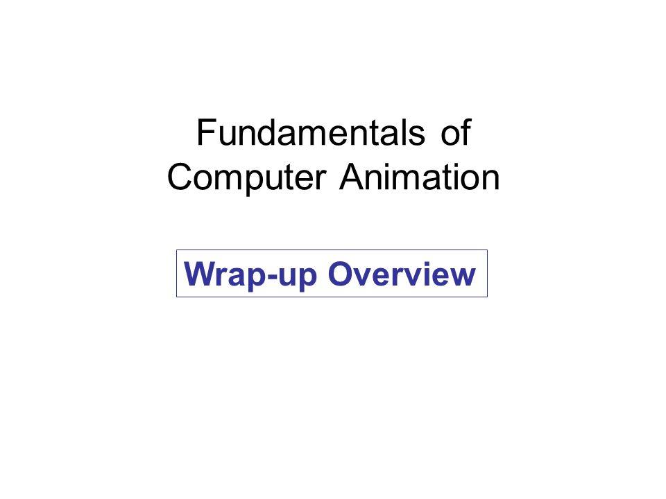 Fundamentals of Computer Animation