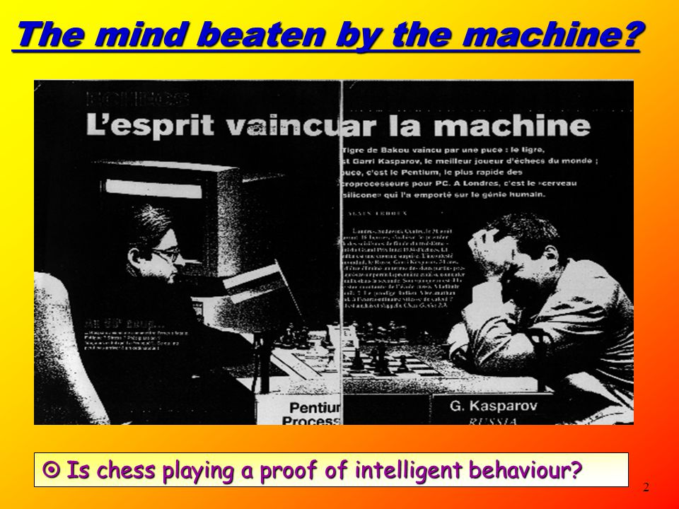 The mind beaten by the machine