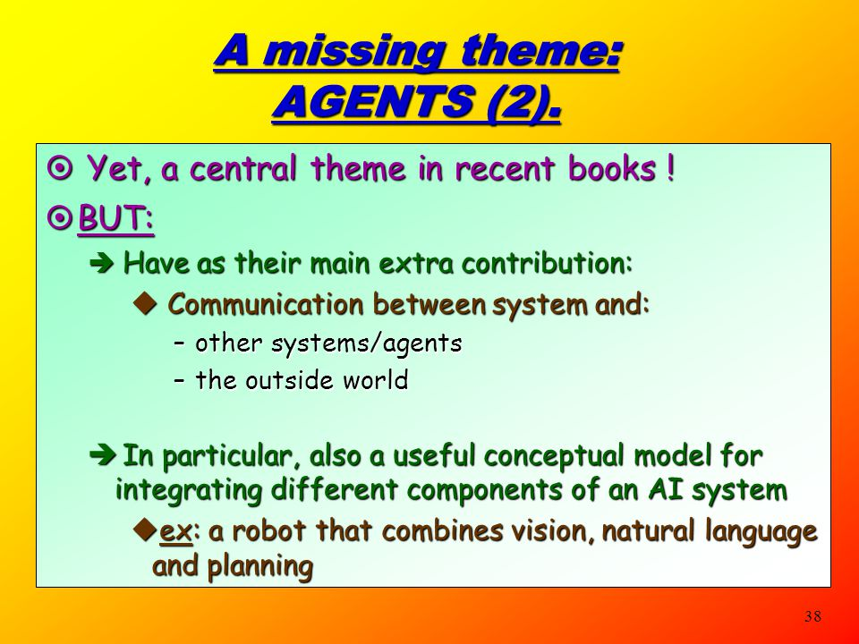 A missing theme: AGENTS (2).