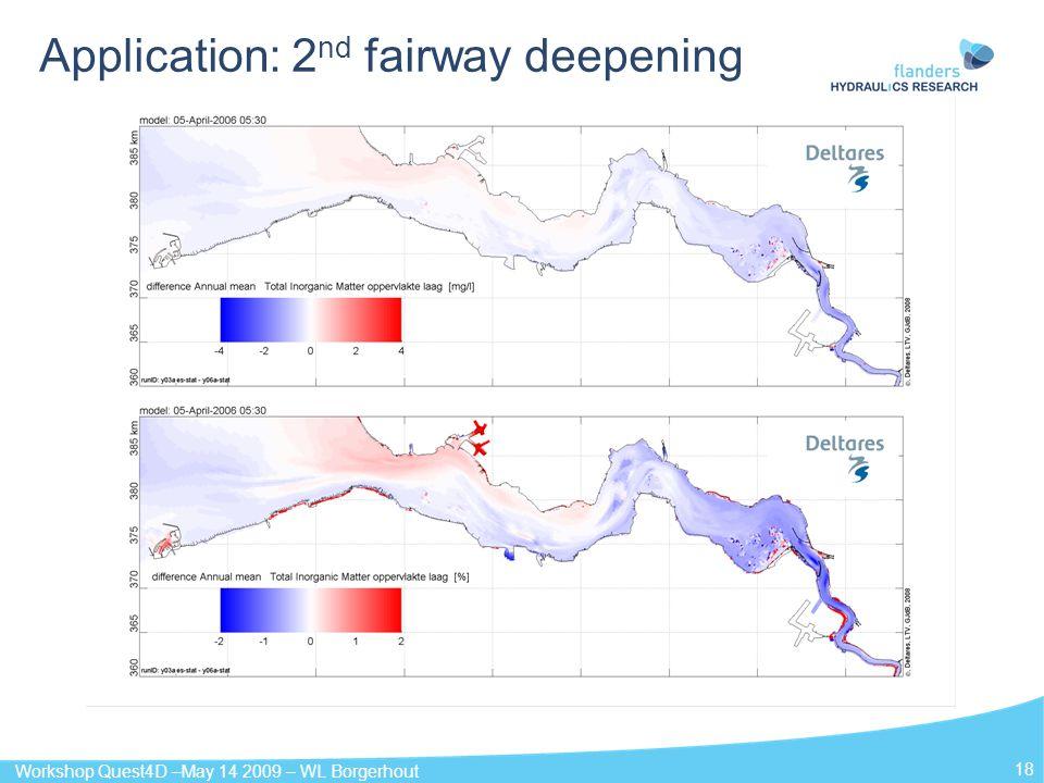Application: 2nd fairway deepening