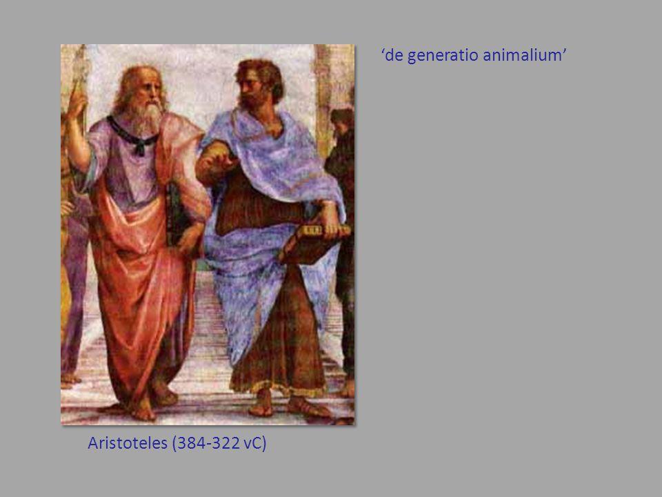 'de generatio animalium'