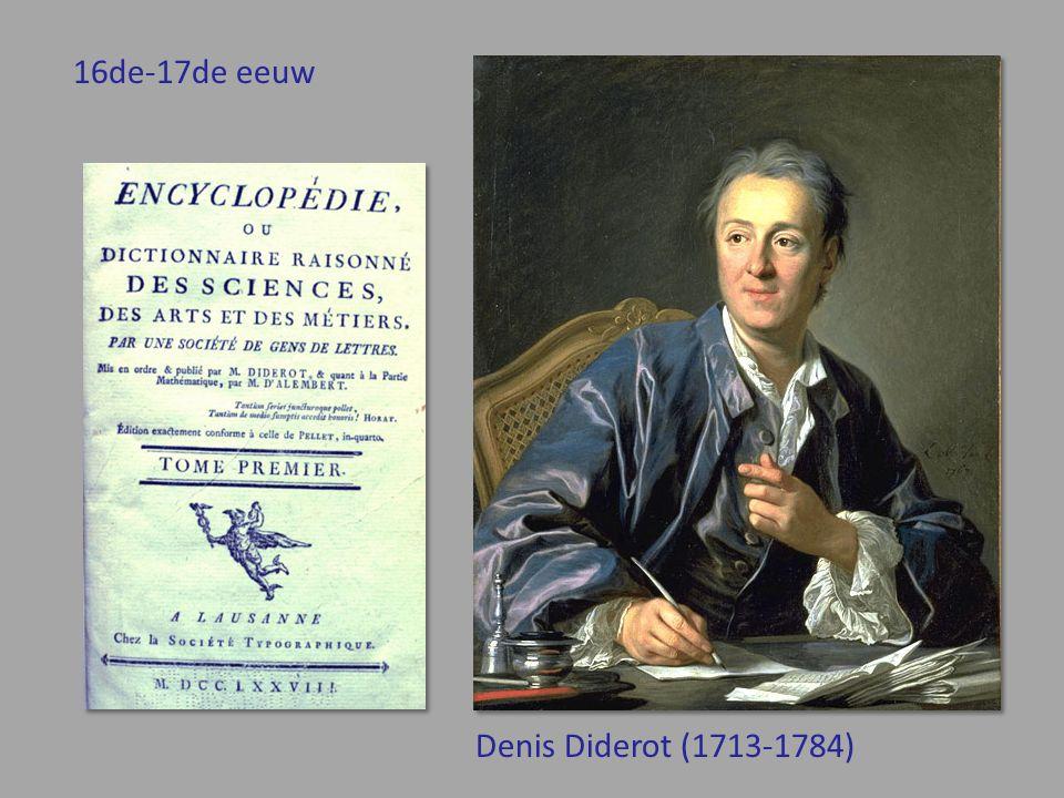 16de-17de eeuw Denis Diderot (1713-1784)