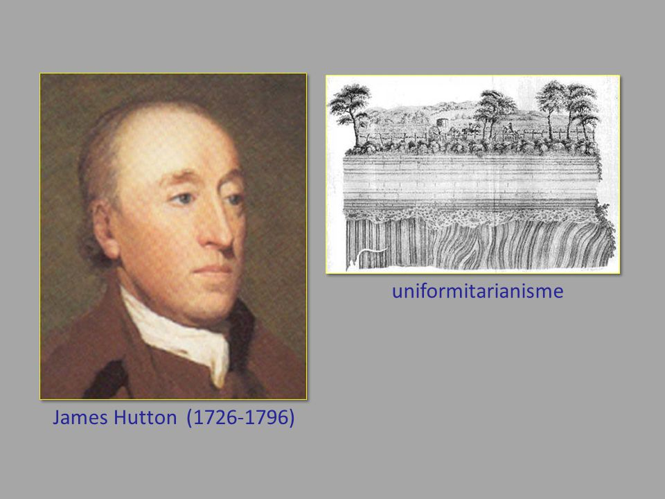 uniformitarianisme James Hutton (1726-1796)