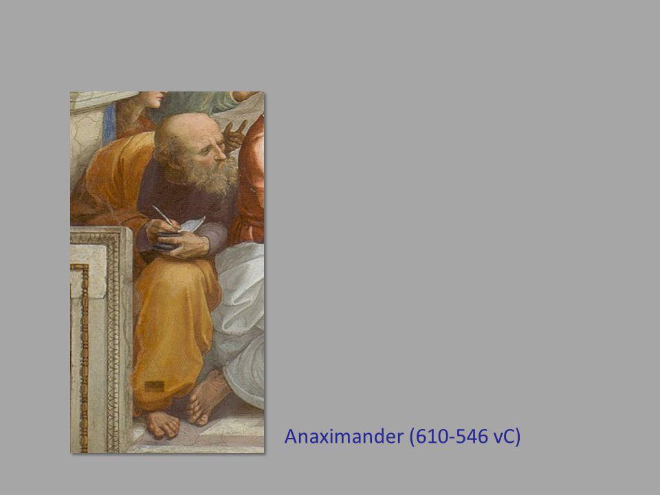Anaximander (610-546 vC)