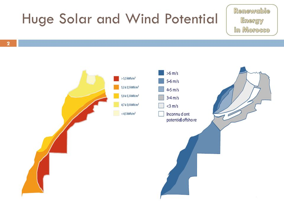 Huge Solar and Wind Potential