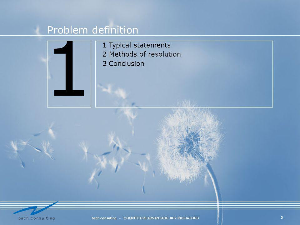 1 Problem definition 1 Typical statements 2 Methods of resolution