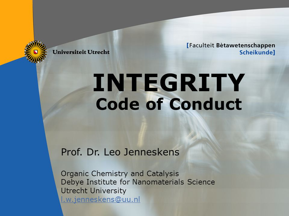 INTEGRITY Code of Conduct