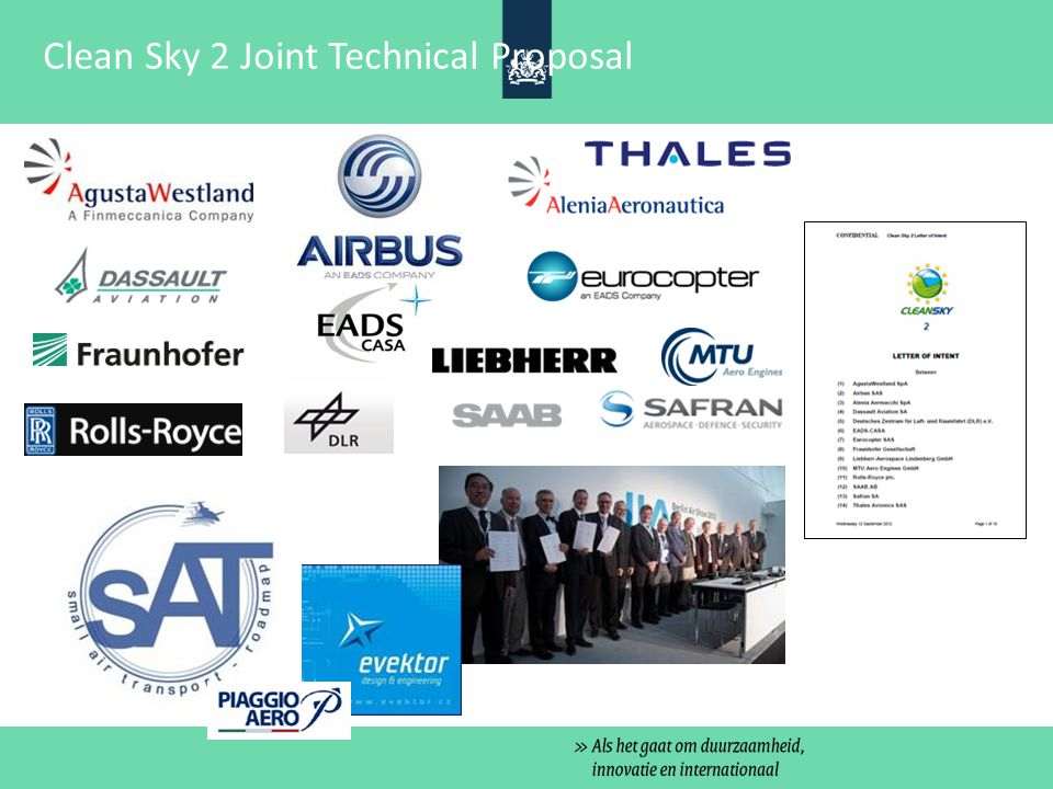 Clean Sky 2 Joint Technical Proposal