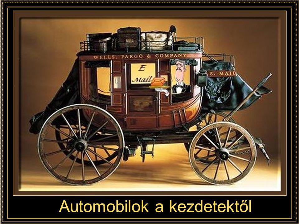 Automobilok a kezdetektől