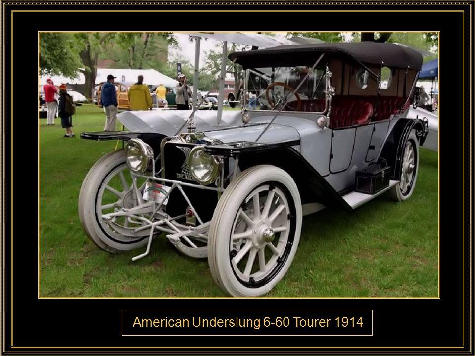American Underslung 6-60 Tourer 1914