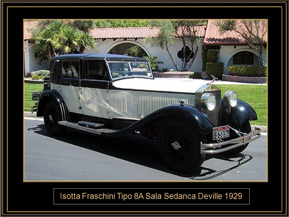 Isotta Fraschini Tipo 8A Sala Sedanca Deville 1929