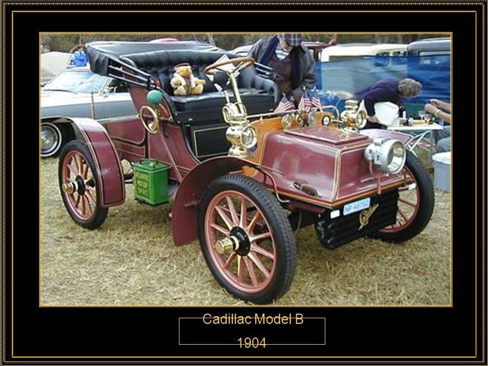Cadillac Model B 1904