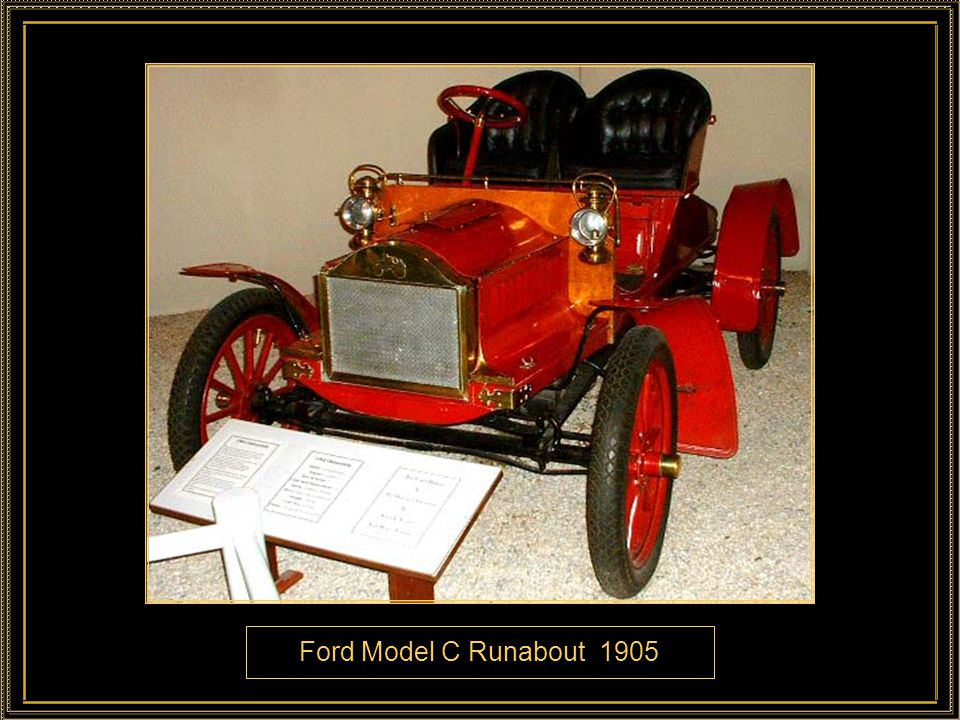 Ford Model C Runabout 1905