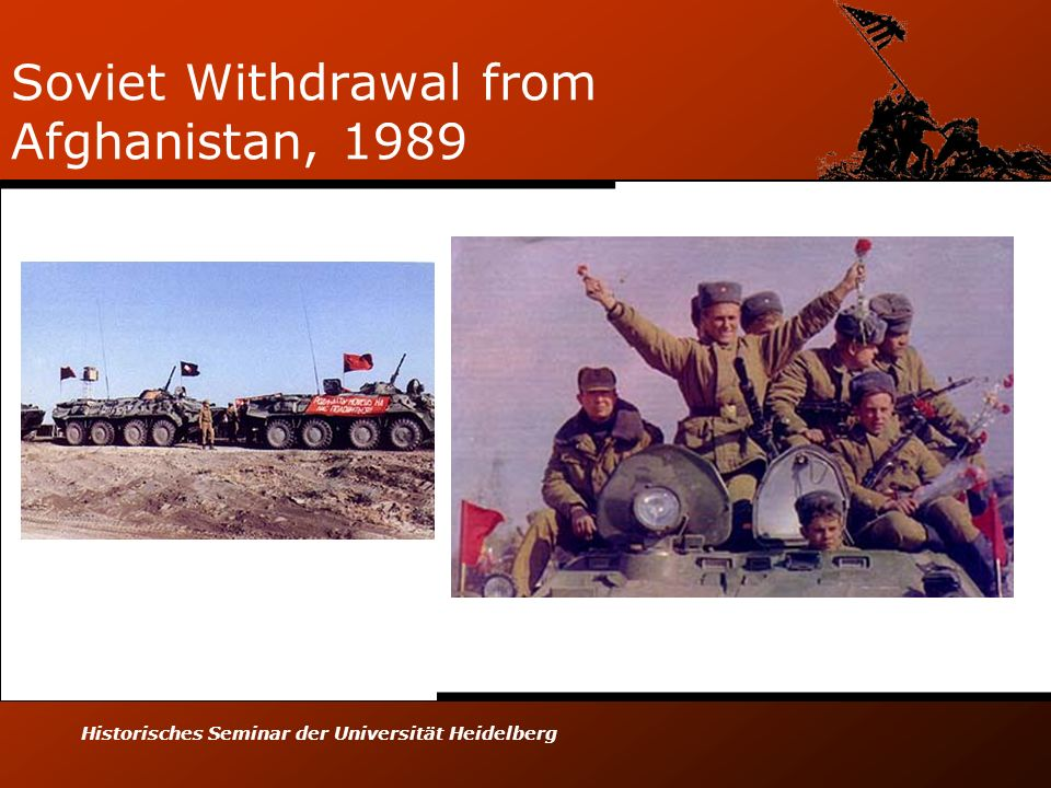 Soviet Withdrawal from Afghanistan, 1989