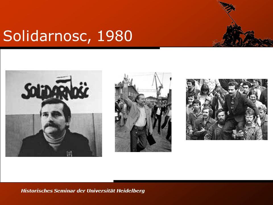 Solidarnosc, 1980 Historisches Seminar der Universität Heidelberg