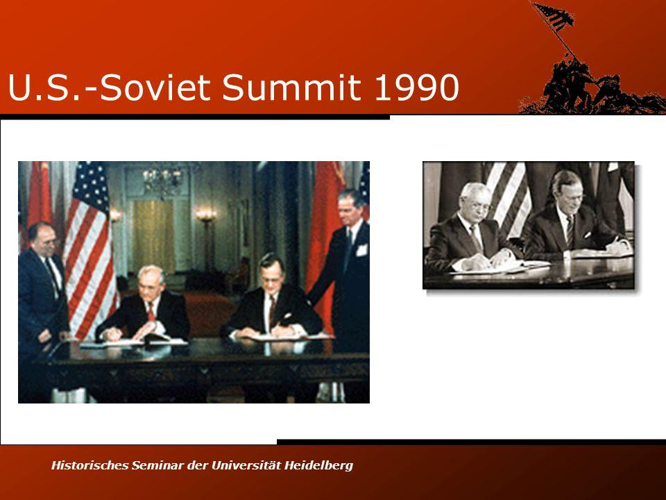 U.S.-Soviet Summit 1990 Historisches Seminar der Universität Heidelberg