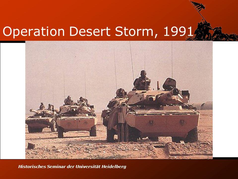 Operation Desert Storm, 1991