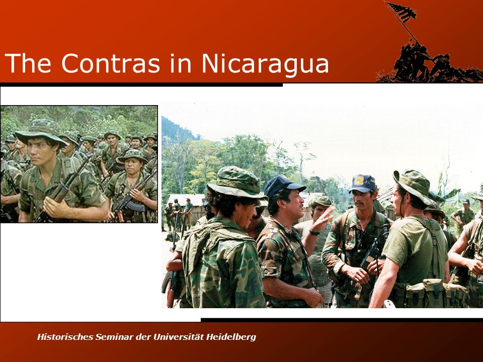 The Contras in Nicaragua