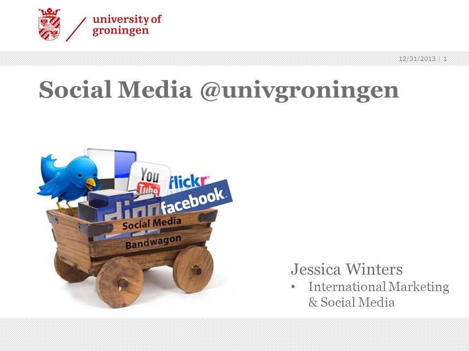 Social Media @univgroningen
