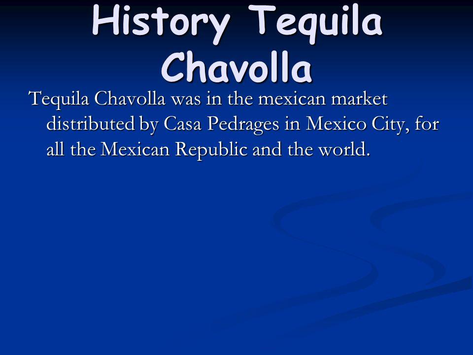 History Tequila Chavolla