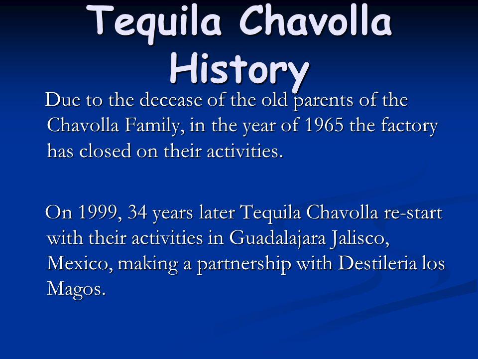 Tequila Chavolla History