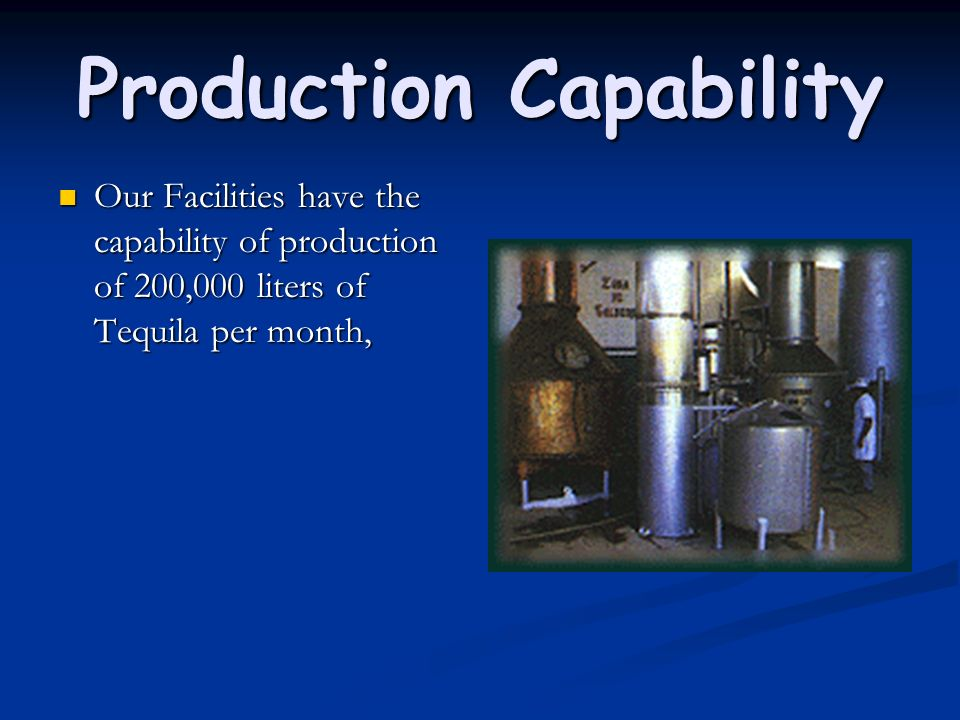 Production Capability