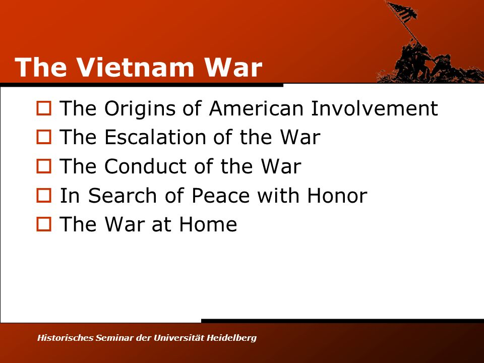 The Vietnam War The Origins of American Involvement