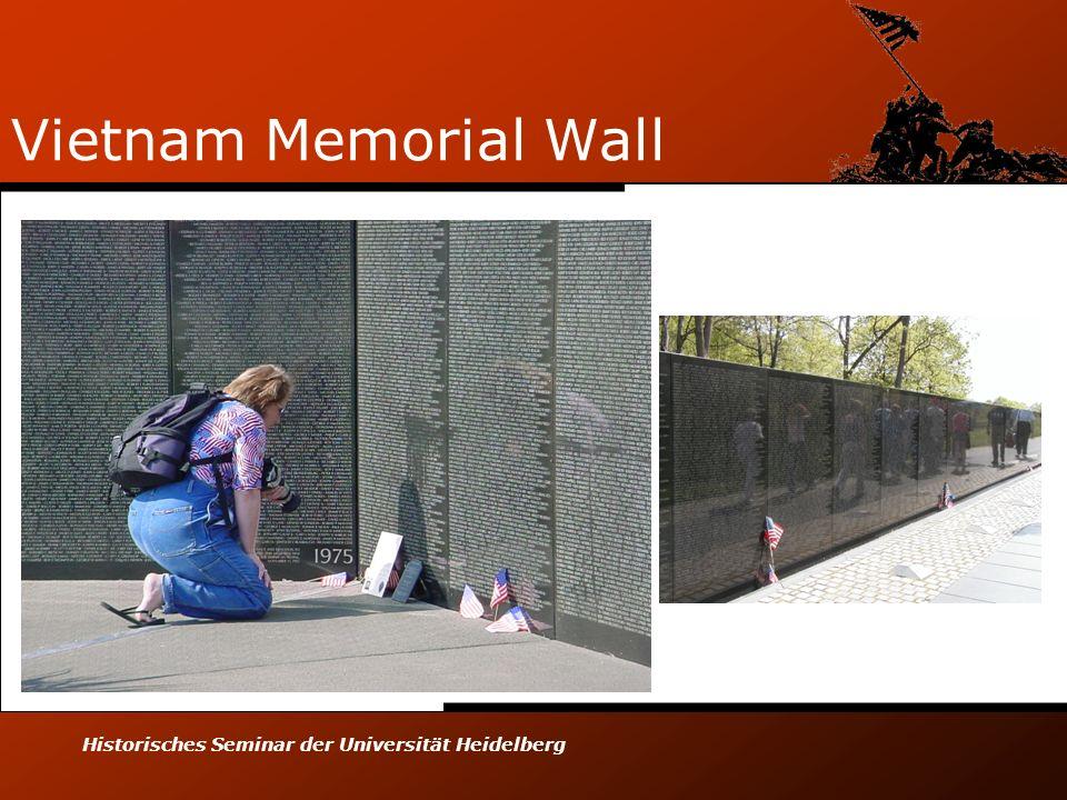Vietnam Memorial Wall Historisches Seminar der Universität Heidelberg