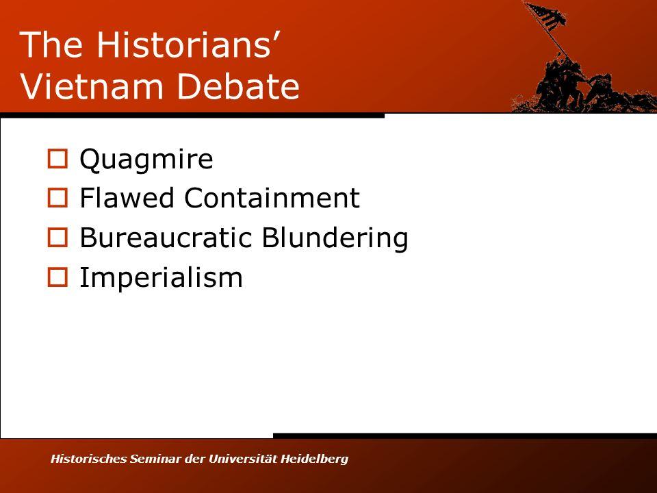 The Historians' Vietnam Debate