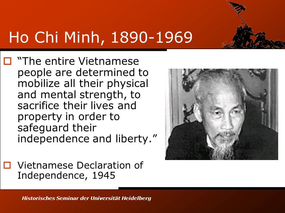 Ho Chi Minh, 1890-1969