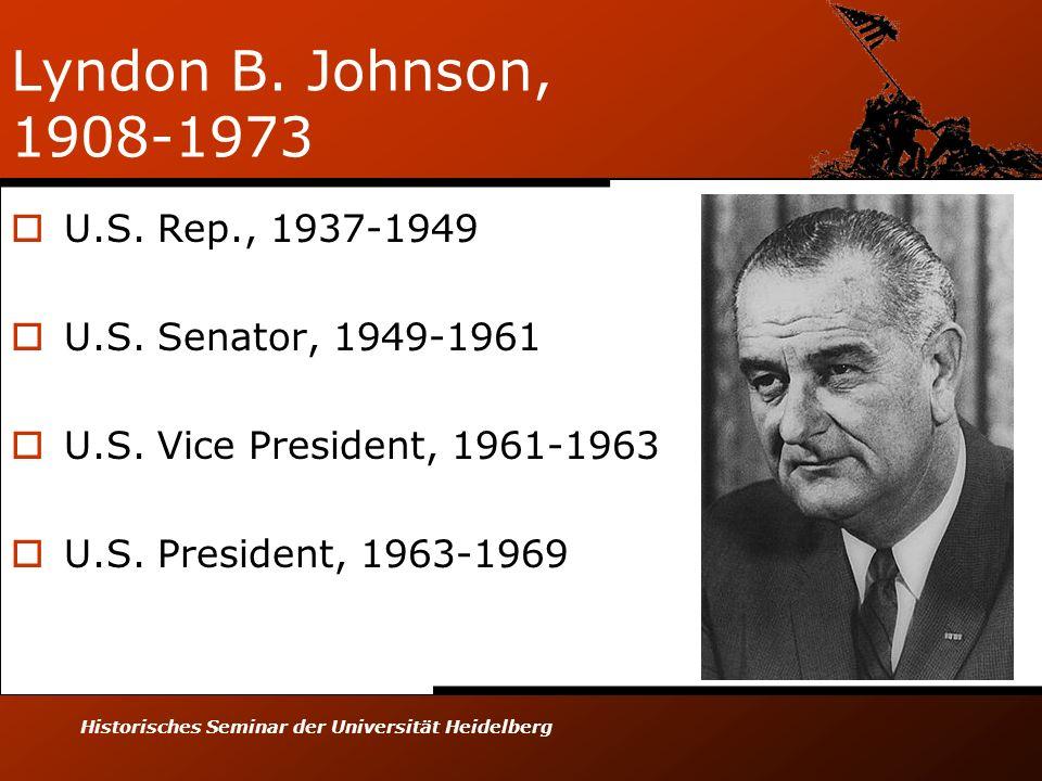 Lyndon B. Johnson, 1908-1973 U.S. Rep., 1937-1949