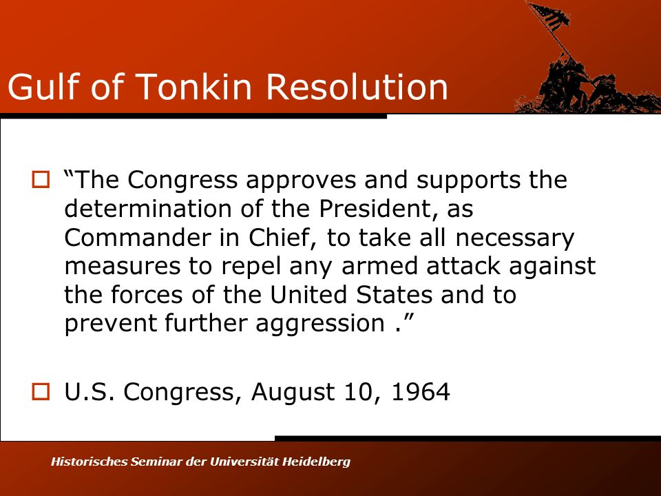 Gulf of Tonkin Resolution