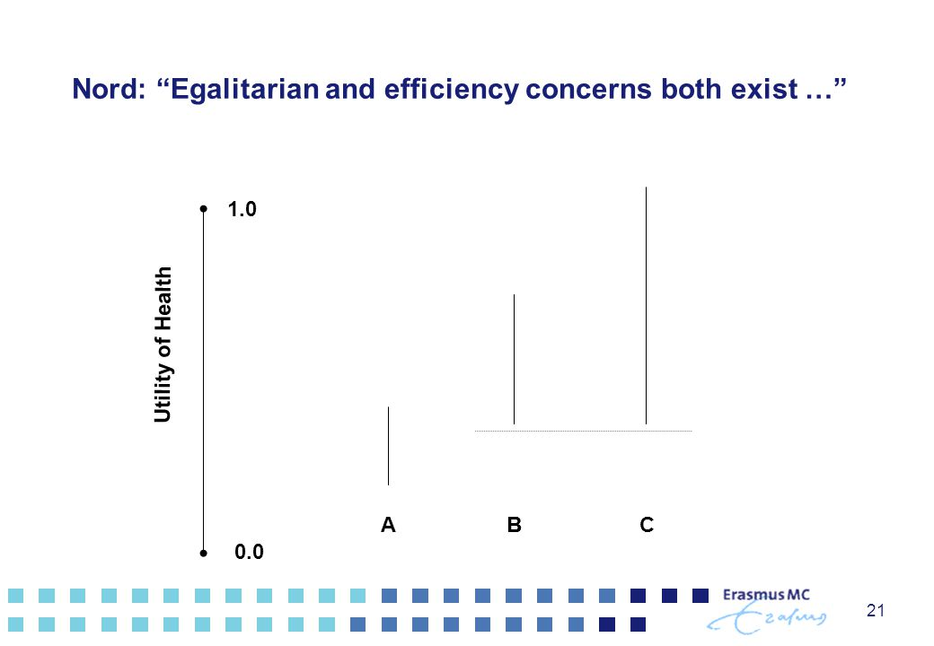 Nord: Egalitarian and efficiency concerns both exist …