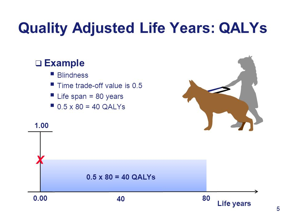 Quality Adjusted Life Years: QALYs