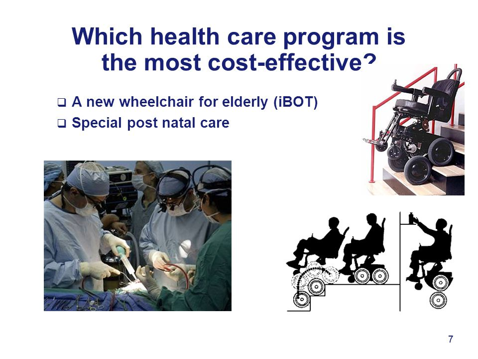 Which health care program is the most cost-effective