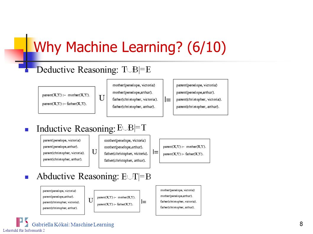 Why Machine Learning (6/10)