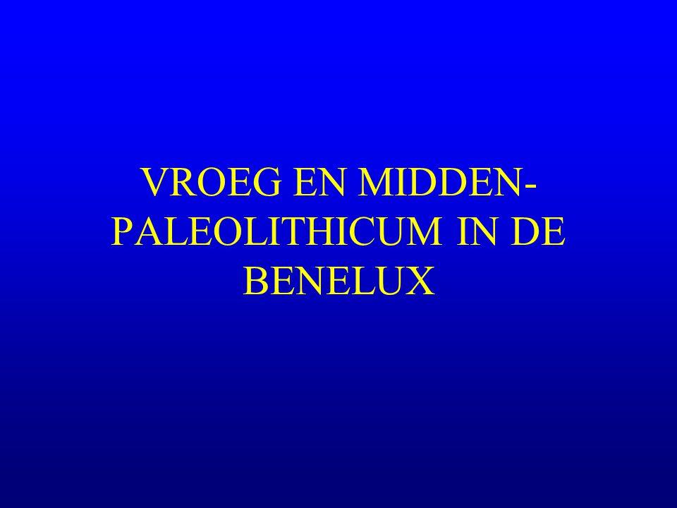 VROEG EN MIDDEN-PALEOLITHICUM IN DE BENELUX
