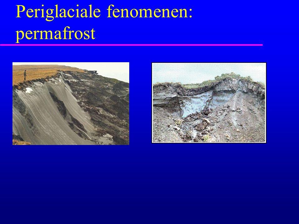 Periglaciale fenomenen: permafrost