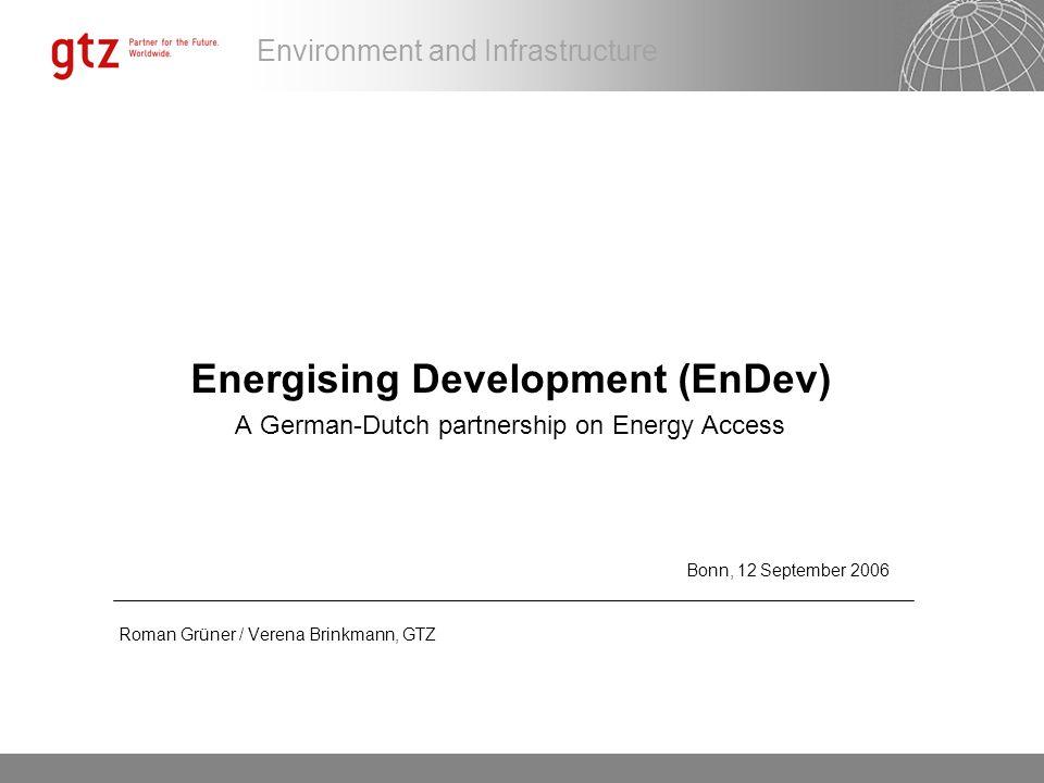 Energising Development (EnDev)