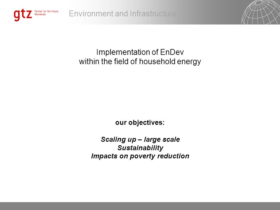 Scaling up – large scale Impacts on poverty reduction