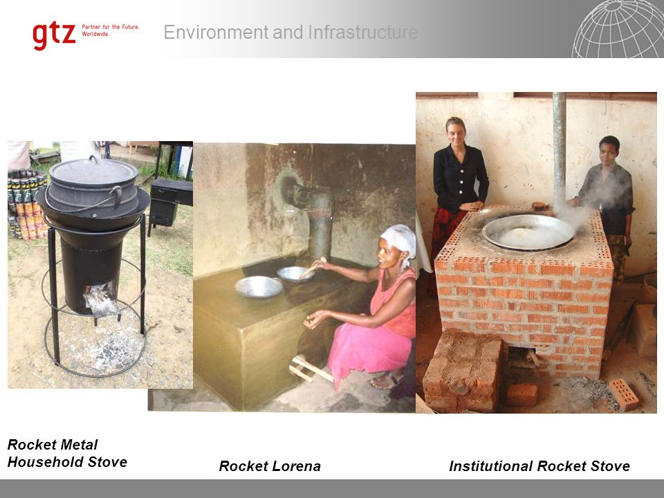 Rocket Metal Household Stove
