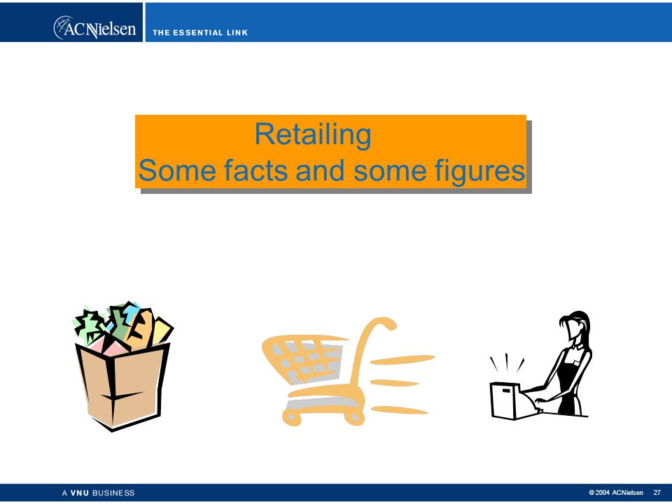 Retailing Some facts and some figures