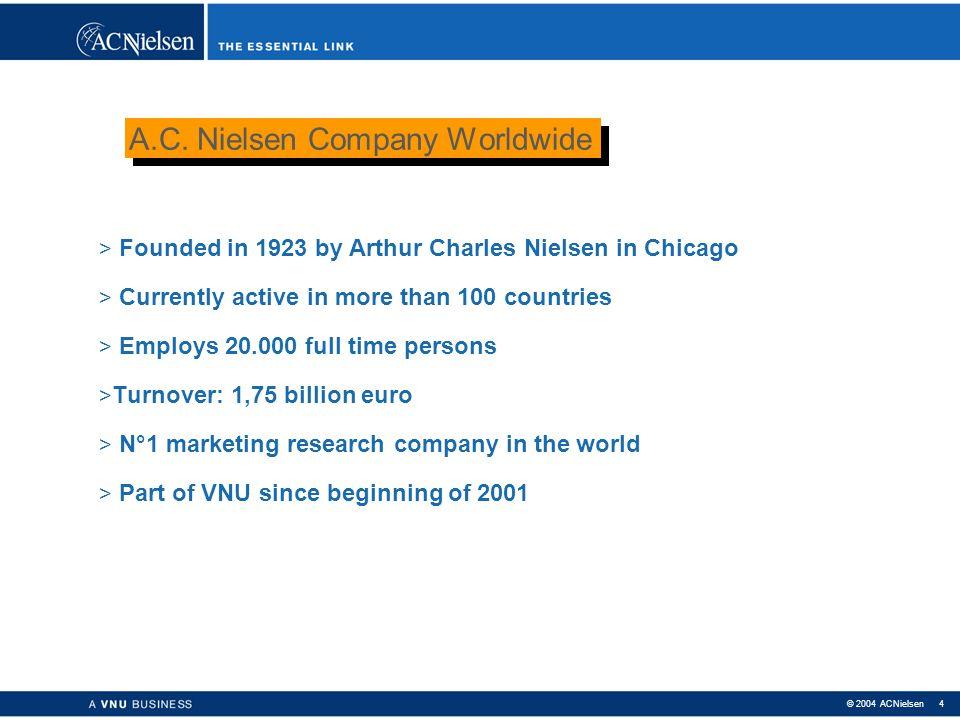 A.C. Nielsen Company Worldwide