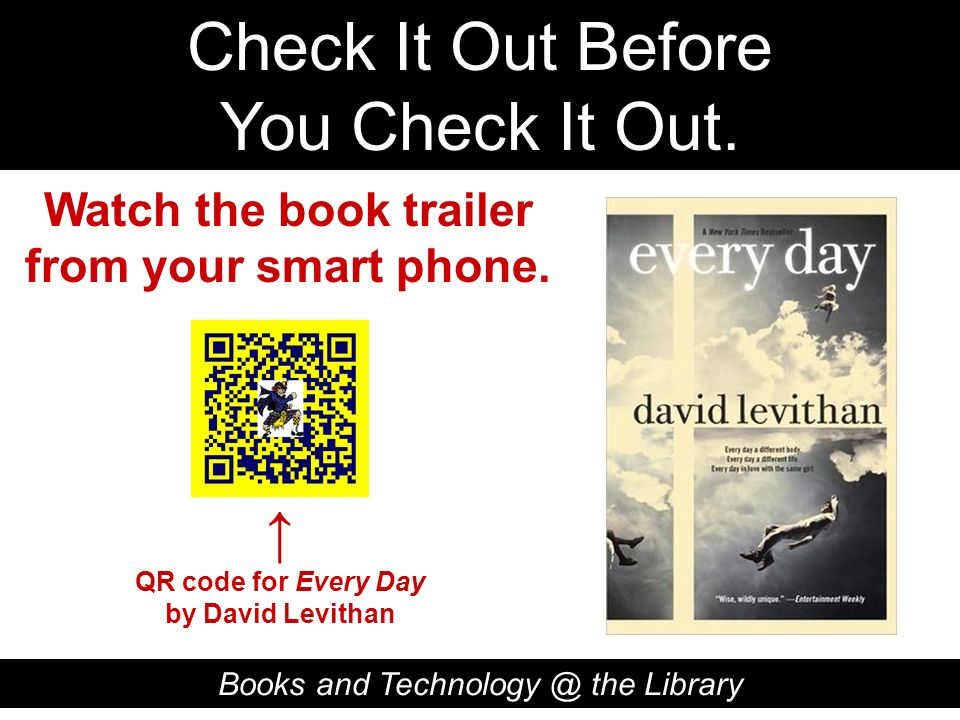 Watch the book trailer from your smart phone.